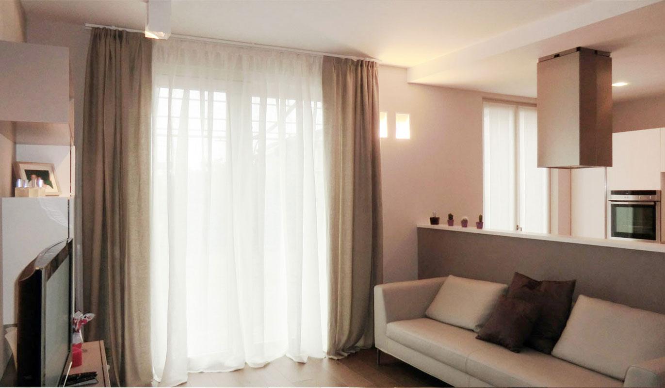 Tende moderne per arredi semplici e lineari for Arredo casa tende